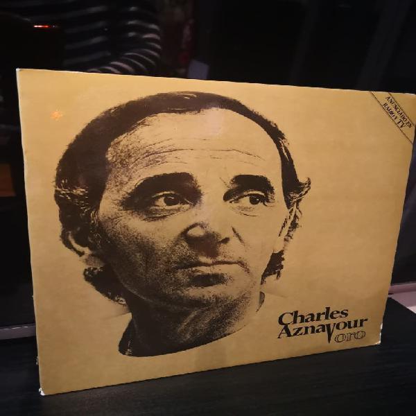 Doble lp charles aznavour oro