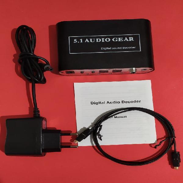 Decodificador de audio digital 5.1