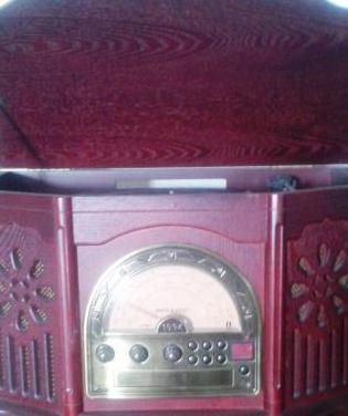 Equipo musica pro basic cd-radio-tocadiscos