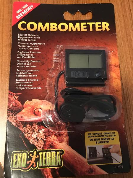 Exo terra combo meter higrometro-termómetro