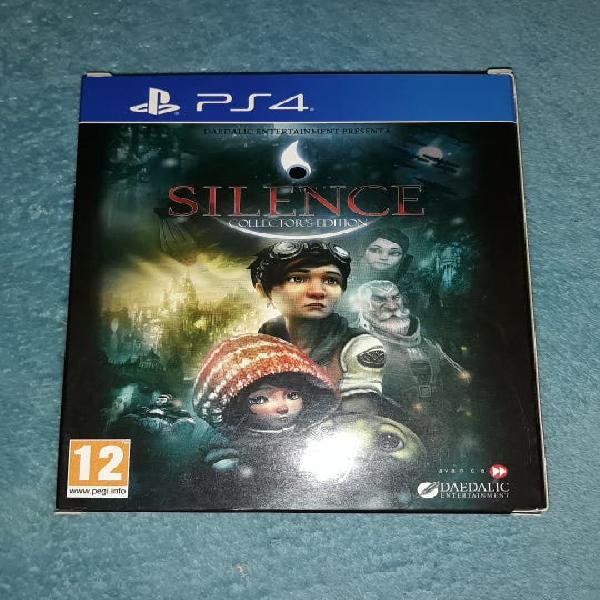 Extras silence ps4 coleccionista