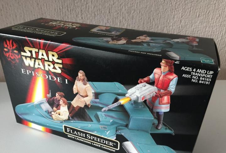 Flash speeder - star wars - episodio i - 1999