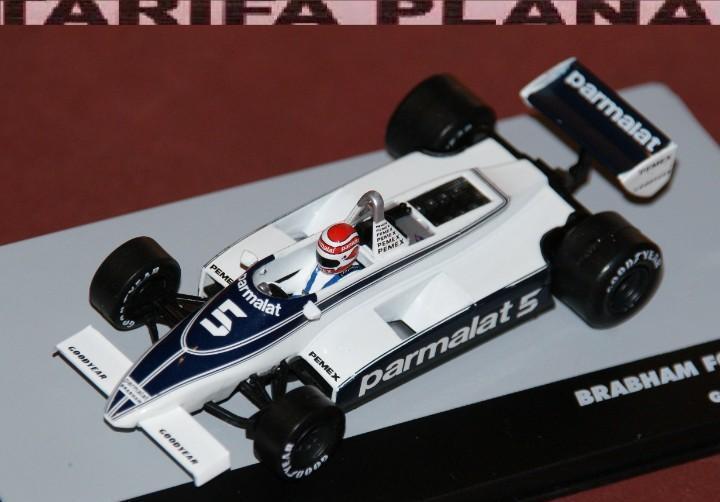 Formula 1 brabham ford bt49c germany gp 1981 nelson piquet