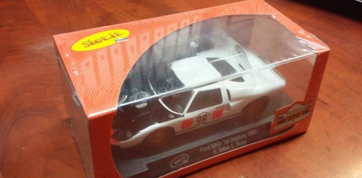 Ford gt mkii daytona 1966 ken miles slot.it ca20b