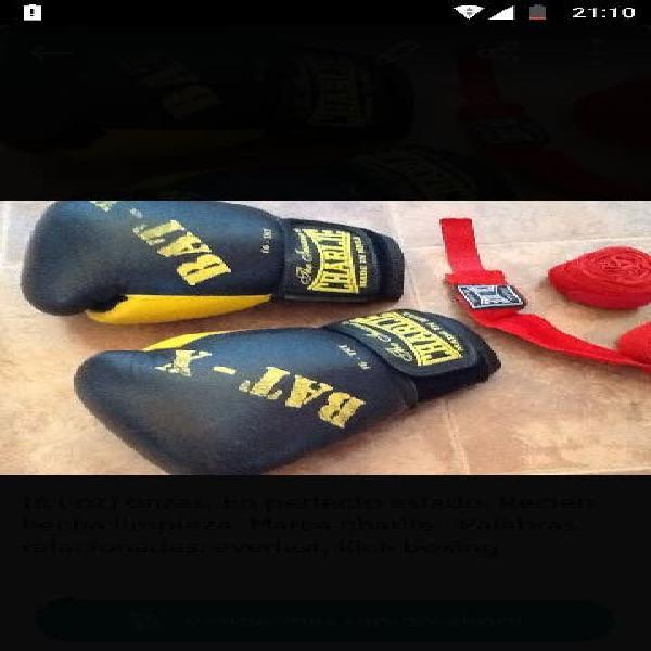 Guantes de boxeo y kick boxing