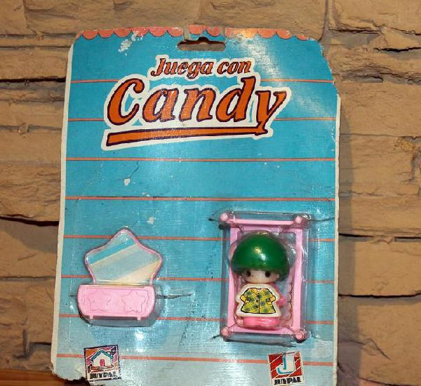 Juega con candy - juypal - blister con muñeca y accesorios