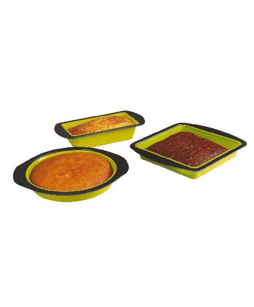 Juego 3 moldes silicona + contorno