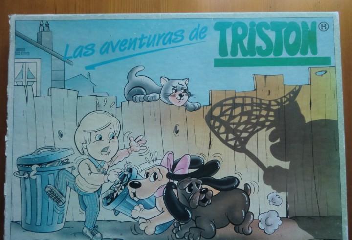 Juego de mesa las aventuras de tristón (1989) de ingaher.