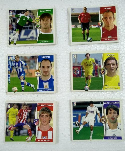 Liga este 2006-07 colocas y últimos fichajes.