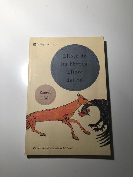 Llibre de les bèsties. llibre del cel.