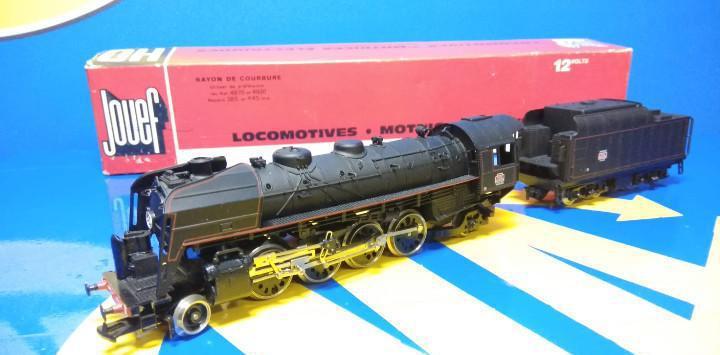 Locomotora h0 jouef rayon de courbure ref. 4870 et 4920 sin