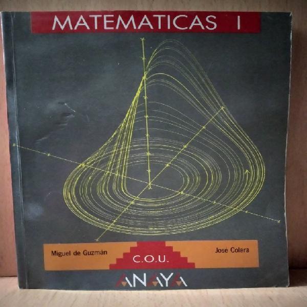 Matemáticas i cou anaya. 1991