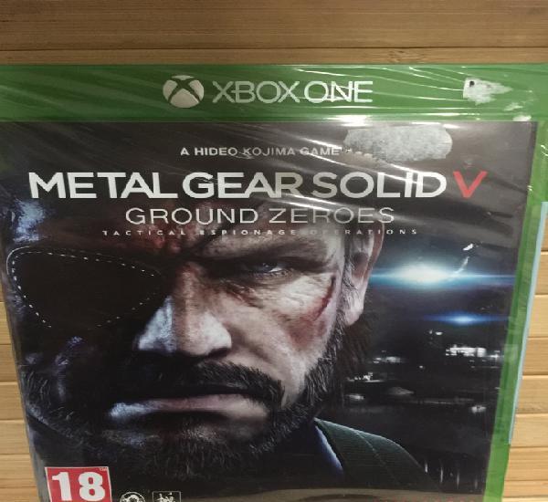 Metal gear v ground zeroes (xbox one) - nuevo-