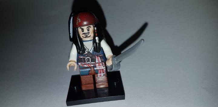 Minifigura compatible con lego piratas del caribe jack