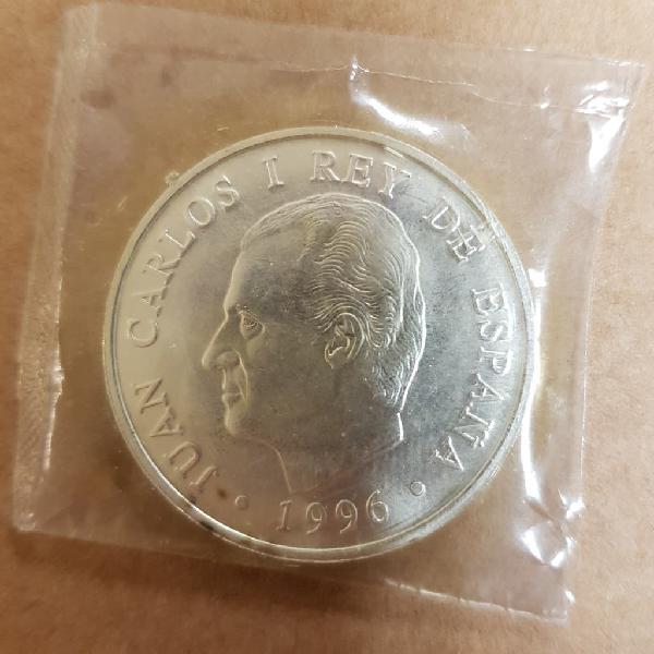 Moneda 2000 pesetas de plata. 1996