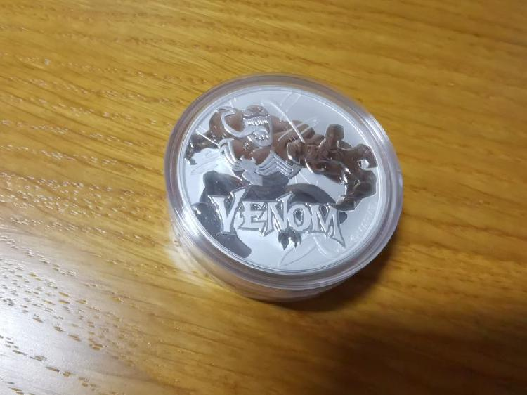 Moneda venom plata