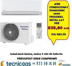Oferta panasonic aire instalado