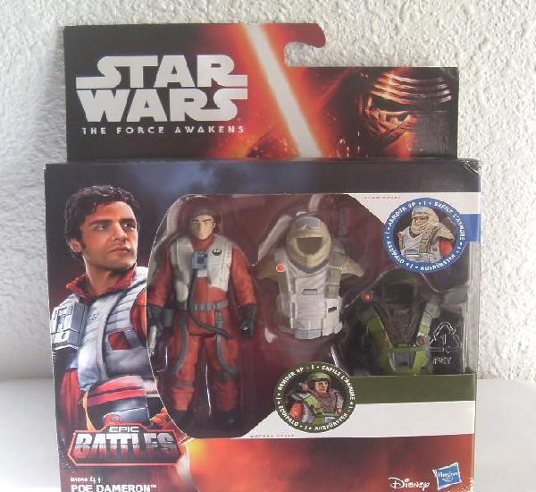 Poe dameron piloto x-wing star wars the force awakens 3,75