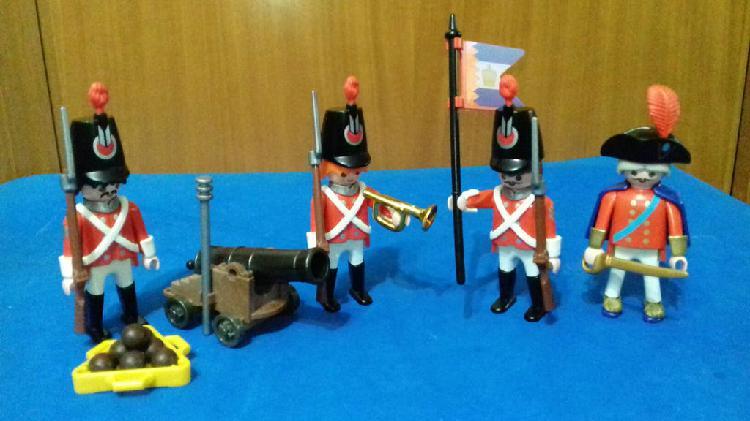 Playmobil set soldados ingleses
