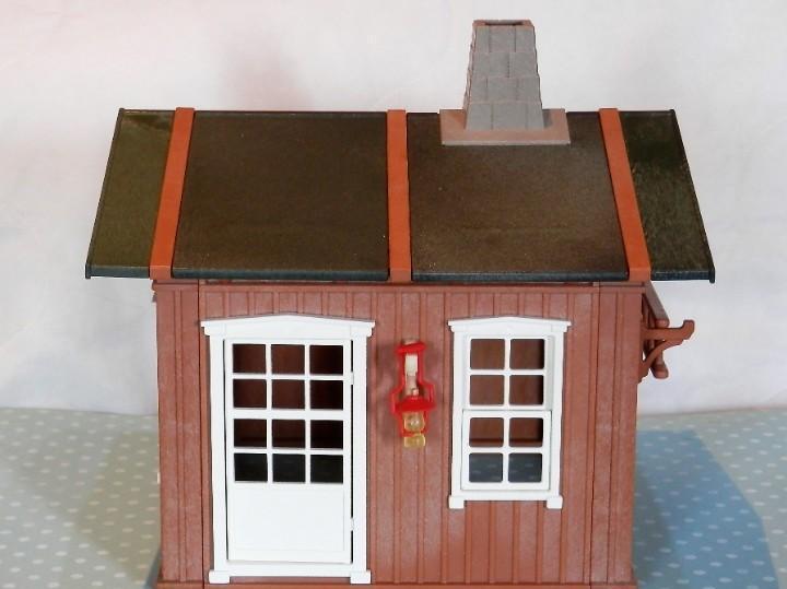 Playmobil granja, casa del oeste