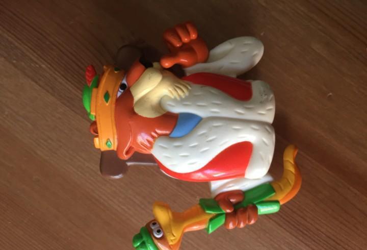 Robin hood - juguete kid's club meal burger king - años 90