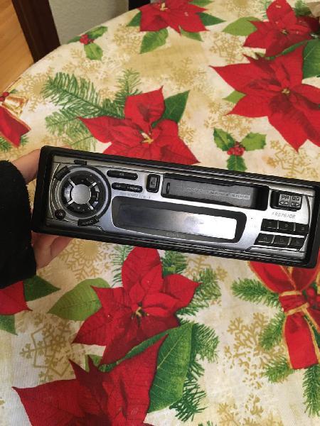Radio cassette coche clarion