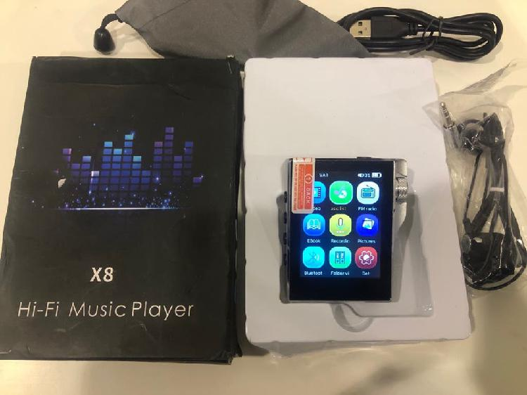 Reproductor de mp3 con bluetooth gueray x8