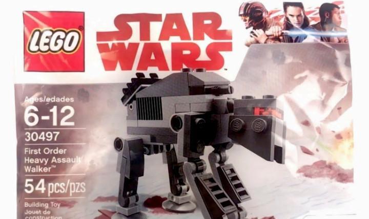Star wars lego first order heavy assault walker mini 30497