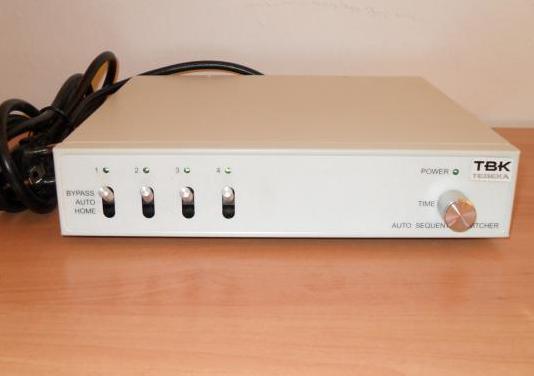 Secuencial para cámaras de vigilancia