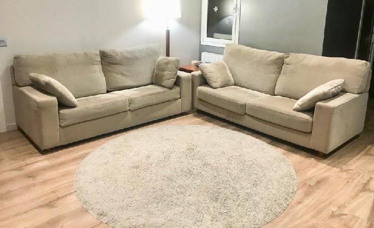 Sofa + sofa cama (se venden por separado)