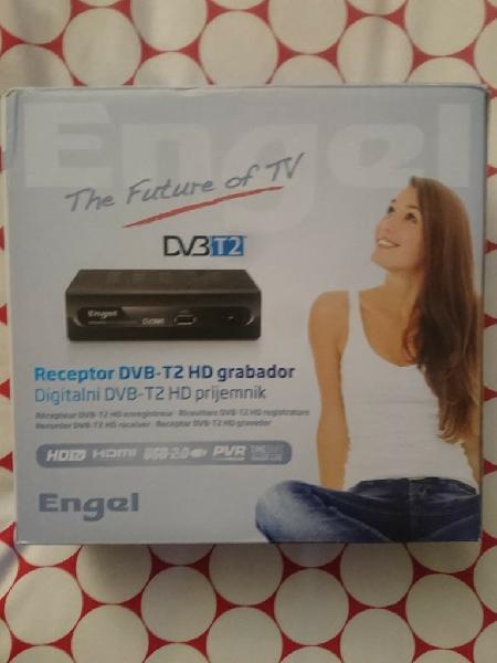 Tdt engel dvb-t2 hd grabador