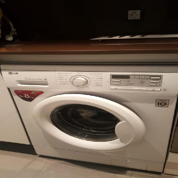 Urge por traslado! vendo lavadora lg serie 7 de 8