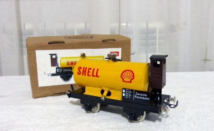 Vagón cisterna shell - paya - escala 0