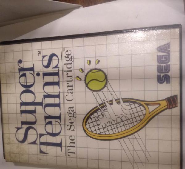 Video juego sega master system super tennis