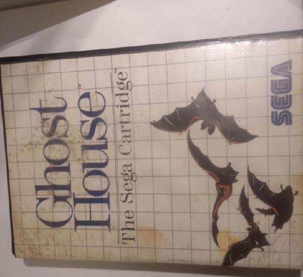 Video juego sega master system ghost house