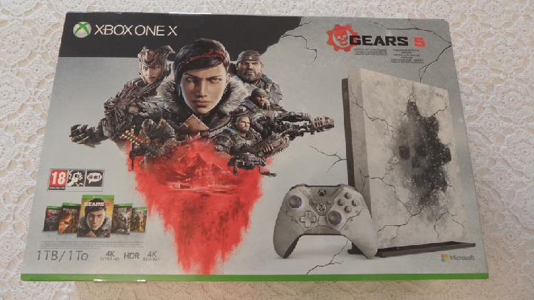 Xbox one x gears 5 nueva
