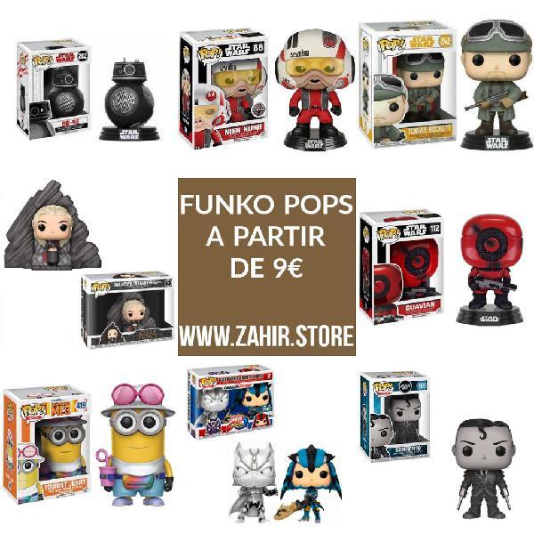 Figuras funko pop desde 9€