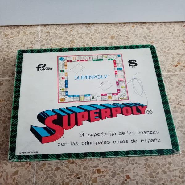 Juego superpoly antiguo