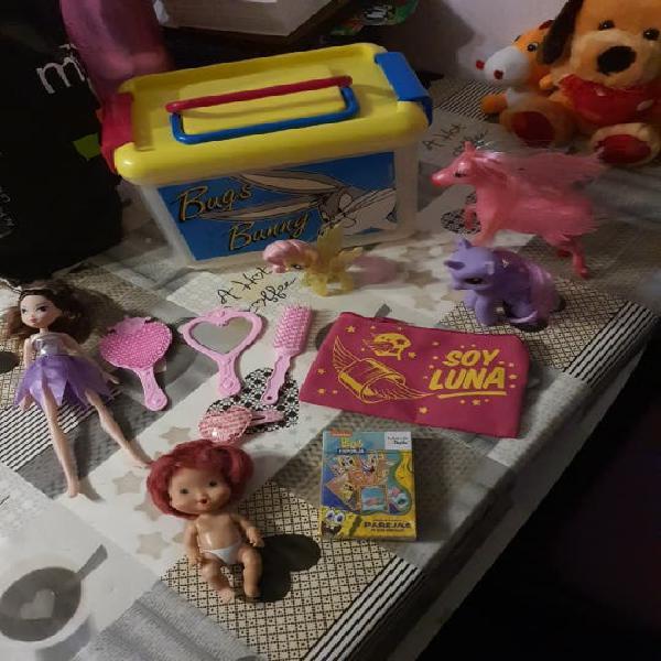 Lote juguetes niña