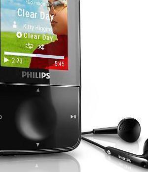 Mp3 philips 16 gb sin estrenar grabador cascos