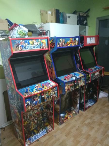 Máquinas recreativas arcade