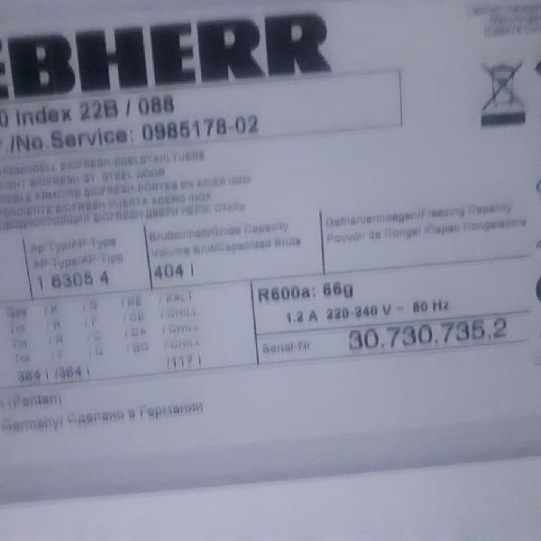 Sbs liebherr kbesf4210