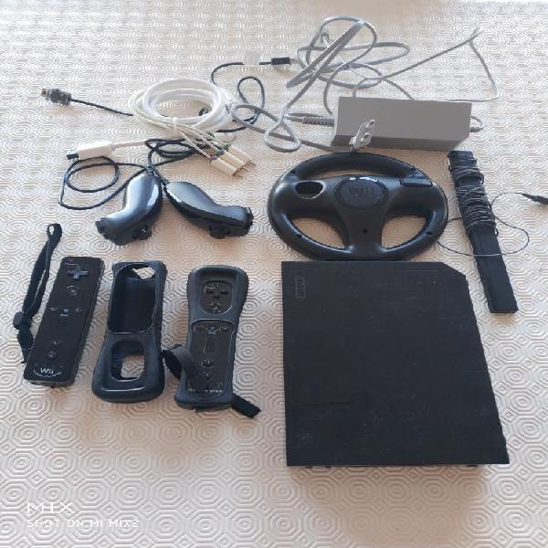 Wii 2 mandos funda volante