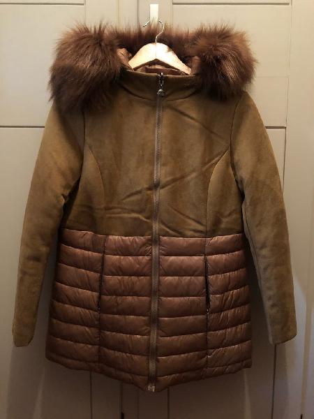 Abrigo combinado y reversible