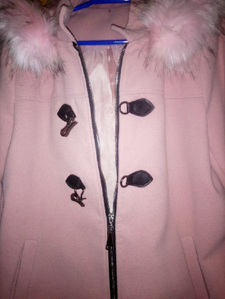 Abrigo de chica. talla l. color rosa