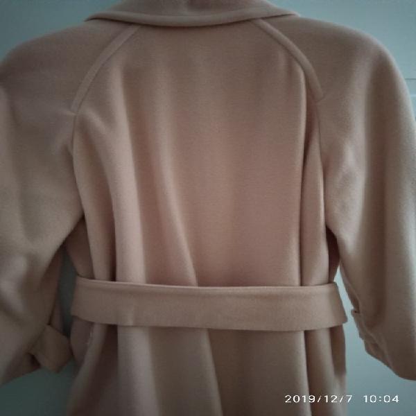Abrigo de pura lana virgen cashemire