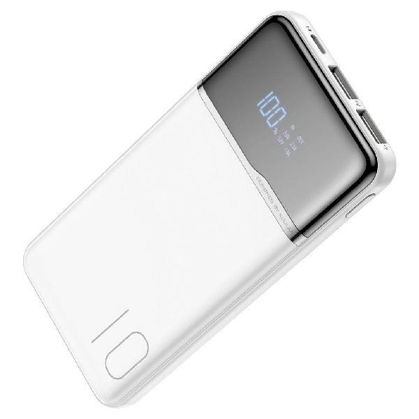 Bateria externa kuula 10000mha blanca 5v