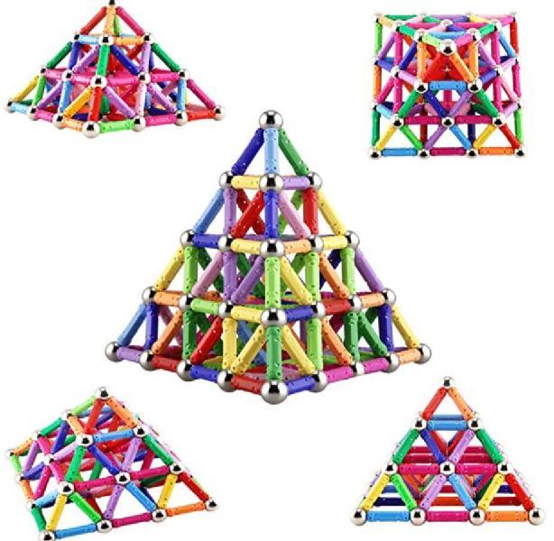 Bloques magnéticos 206. piezas
