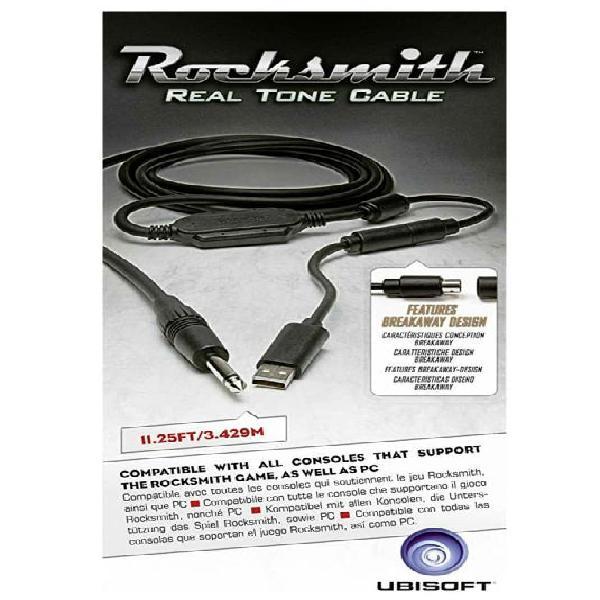 Cable de guitarra para juego rocksmith