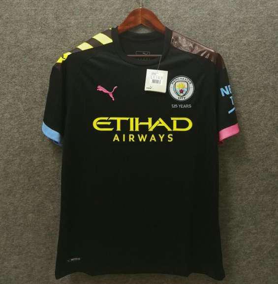 Camiseta manchester city segunda 2019-2020 en abrera